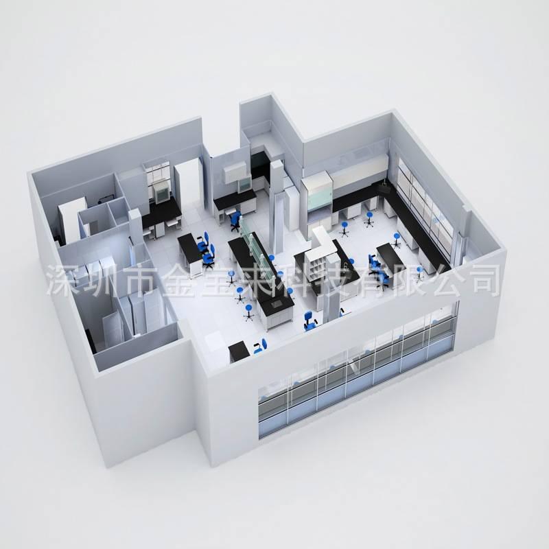 南海区无菌洁净实验室设计实验室设计装修配置方案PCR实验室设计