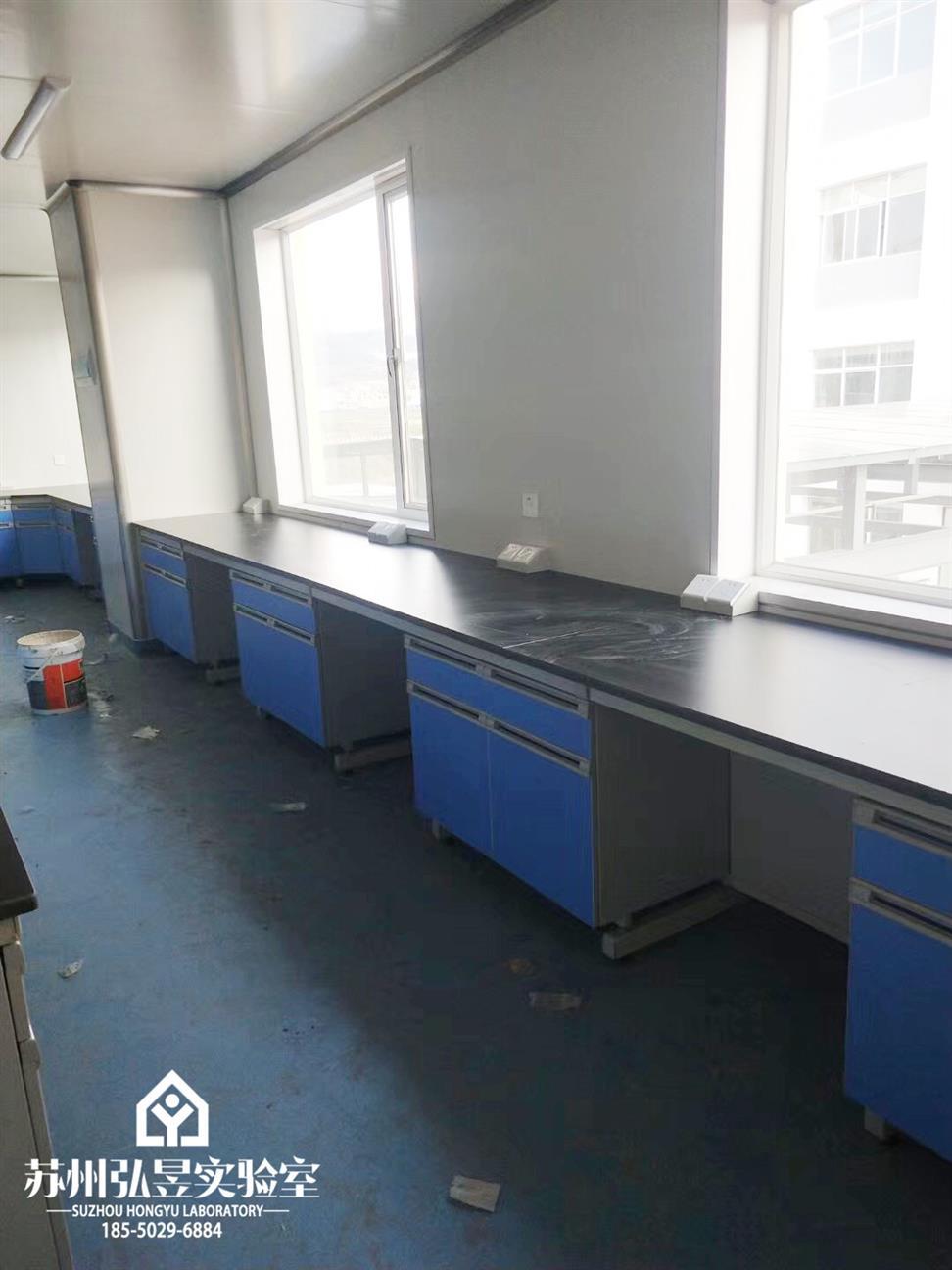 安庆食品检测全钢木实验台通风柜生产厂家 橱柜 全国均可发货