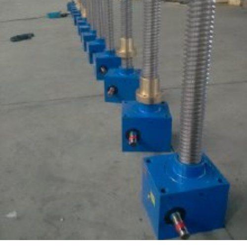 SGA螺旋升降机定制 SGA300 200 100螺旋升降机生产厂 旭睿