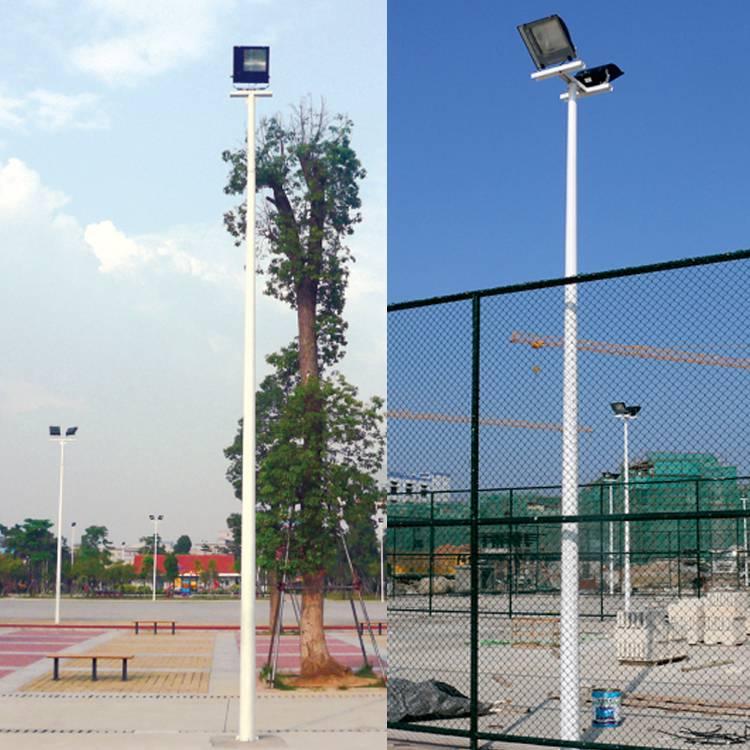 白云区运动场灯杆运动场高杆灯一拖二灯杆一拖一灯杆LED灯杆