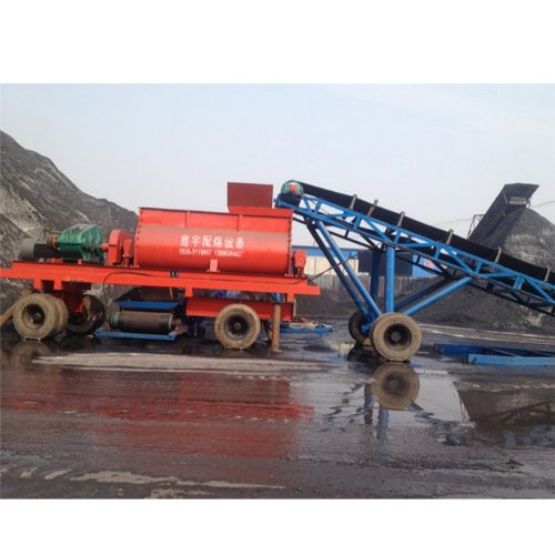 鑫宇混煤机 生产双轴搅拌设备哪家生产好