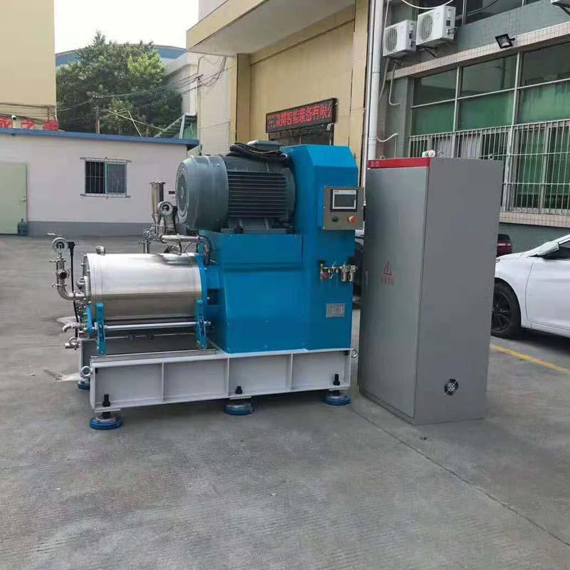 厂家直销 实验室纳米棒销式砂磨机 卧式砂磨机 盘式砂磨机