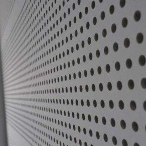 霖熙 铝蜂窝穿孔吸音板安装 大礼堂穿孔吸音板供应