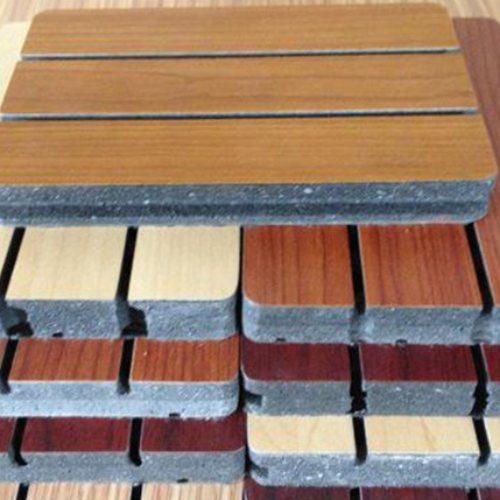 实验室木质吸音板供应商 新型木质吸音板安装 霖熙