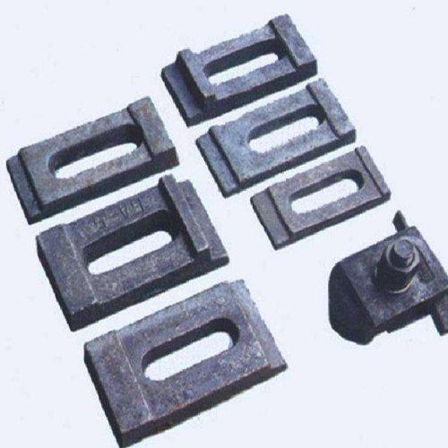 正丰铁路器材 行吊轨道压板加工 圆孔轨道压板长期批发