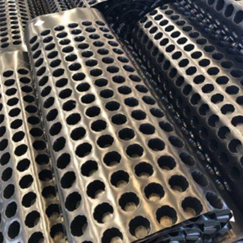 蓄排水板 隧道排水板蓄水 宏川 pvc毛细排水板pe