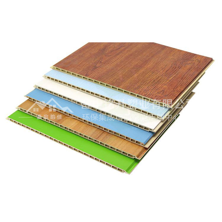 竹木纤维集成墙板 客厅竹木纤维集成墙板厂家 豪庭韵佳集成墙板