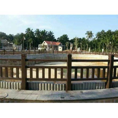 校园仿木栏杆专业定制 易商量 惠州仿木栏杆设计