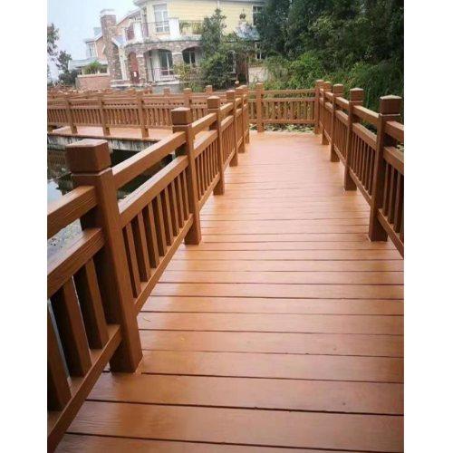广州仿木护栏专业定制 易商量 别墅仿木护栏批发