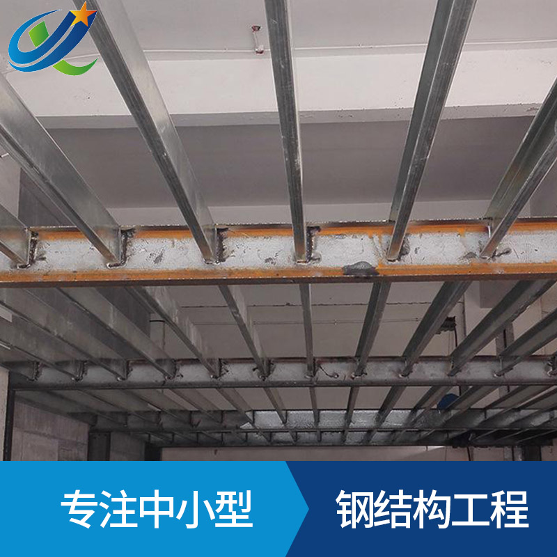 加工定制钢结构隔层钢结构铁皮房