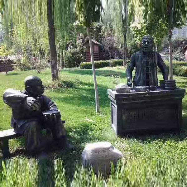 卡通玻璃钢造型制作 黑龙江玻璃钢造型定制 三邦雕塑