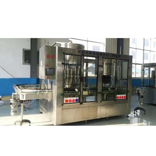 全自动酒水智能灌装机生产线 山东青州酒水智能灌装机 青州赛特