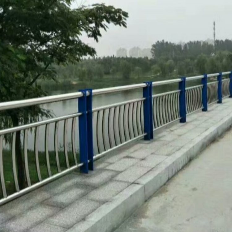 不锈钢桥梁护栏生产加工 201不锈钢复合管桥梁护栏报价 飞龙