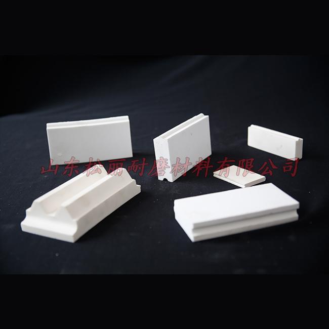 鲁松丽 绝缘耐磨陶瓷衬板施工安装 钢厂耐磨陶瓷衬板专业生产