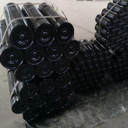 安久工矿配件 螺旋托辊加工厂 矿用托辊生产商 防跑偏托辊批发价