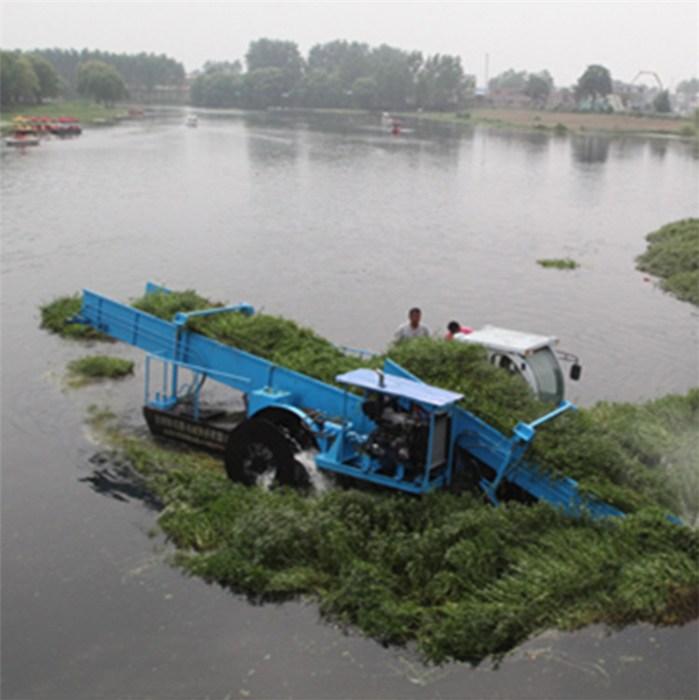 青州恒川专业供应水草收割船   免费安装调试  保修一年