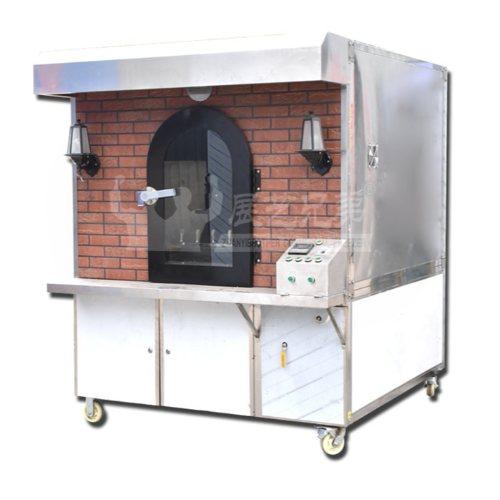 传统烤鸡烤鸭设备定制 果木烤鸡烤鸭设备直销 展艺兄弟