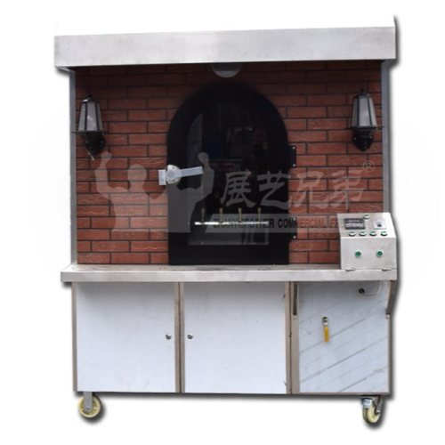 展艺兄弟 北京烤鸭炉直销 复古烤鸭炉 移动式烤鸭炉定制