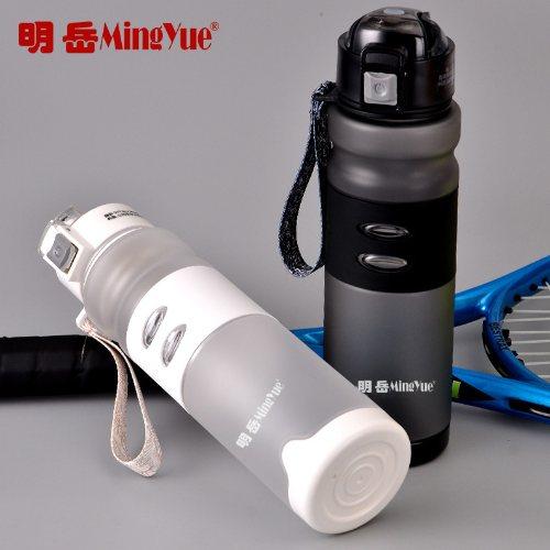 硅胶运动礼品杯批发 明岳 便携运动礼品杯定制