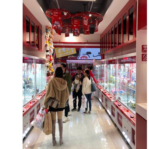 广州谷微动漫科技 ufocatcher二爪娃娃机萌抓星球三里屯 娃娃机店