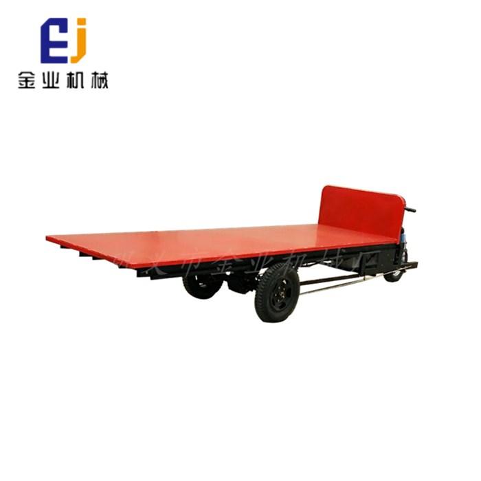 纸箱厂用电动平板车 3吨电动平板车 金业机械