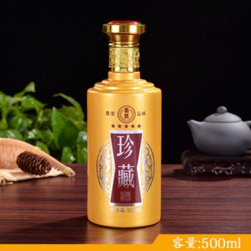 高白料玻璃酒瓶生产 烤花玻璃酒瓶生产 金诚