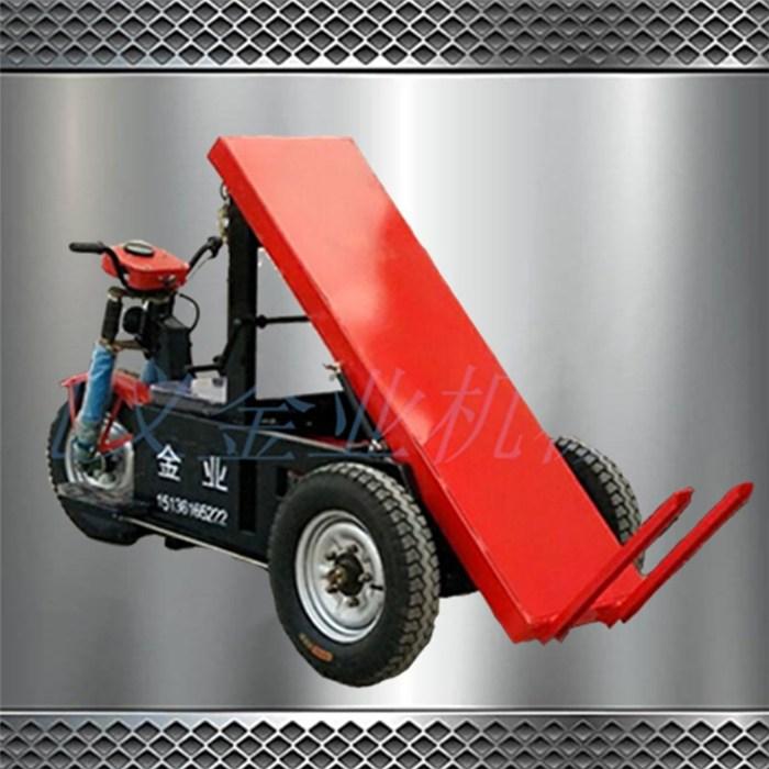 平板拉砖车好用吗 建筑工地平板拉砖车省劲吗 金业牌