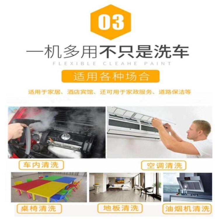 望锦 蒸汽洗车机 门店洗车机 全自动蒸汽清洗机