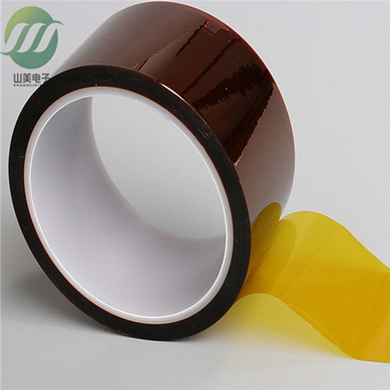 [金手指胶带] 茶色高温胶带 金手指耐高温胶带 冲型 PI膜