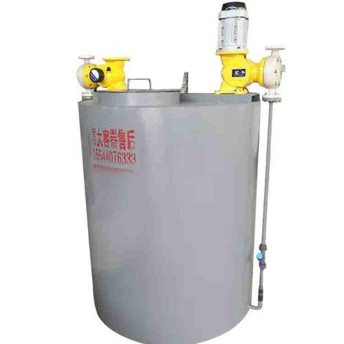 富大容器 10立方PE塑料水箱 耐酸碱PE塑料水箱定做