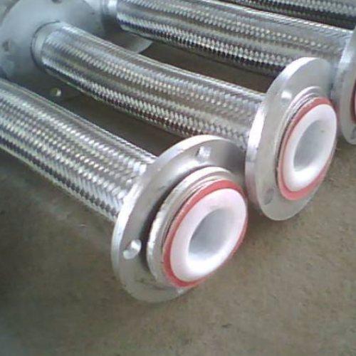 油罐法兰金属软管 鑫驰规格全 三通法兰金属软管安装
