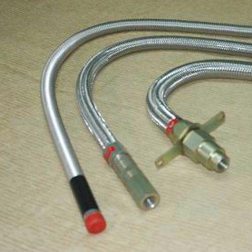 DN80衬四氟金属软管长度 鑫驰规格全 铠装衬四氟金属软管