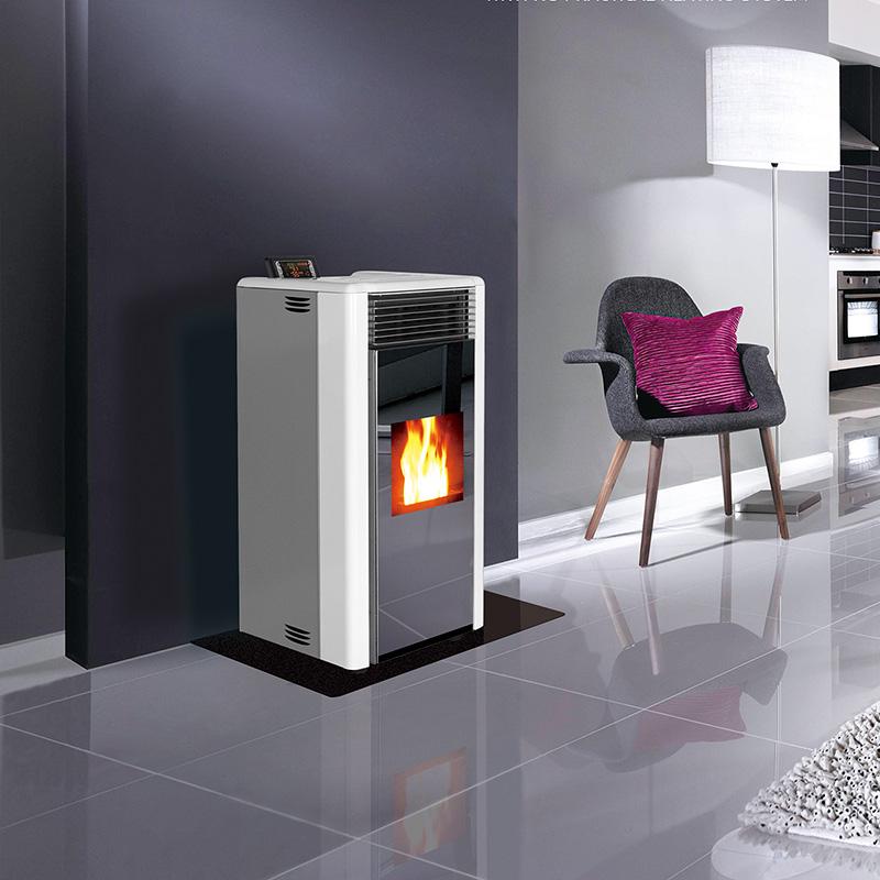 包头环保颗粒暖风炉报价 生物质颗粒热辐射炉 自动下料自动点火