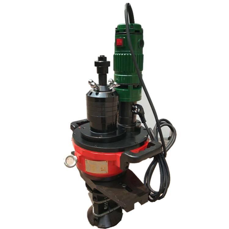电动坡口机移动式管道坡口机手持式钢管坡口机生产厂家