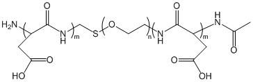 PASP-PEG-PASP 聚天冬氨酸-聚乙二醇-聚天冬氨酸