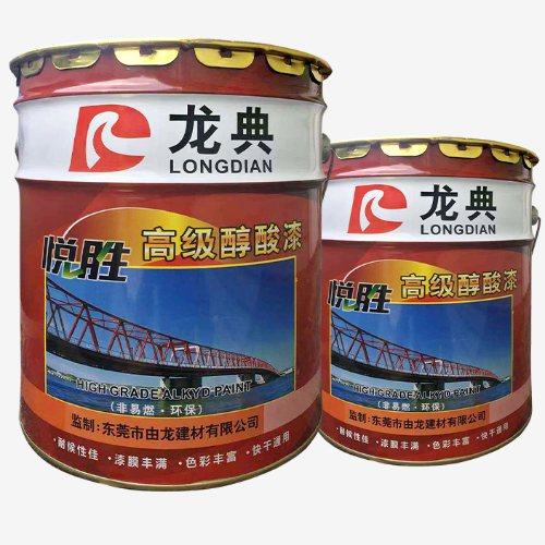 东莞钢结构防腐漆厂 由龙建材 钢结构防腐漆报价