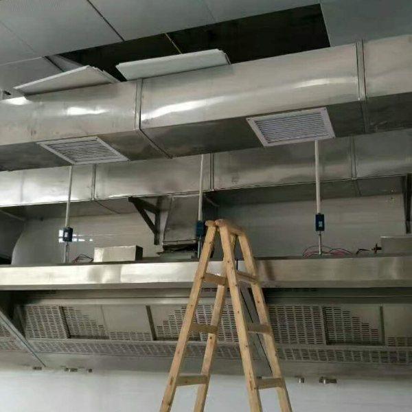 杭州厨房排烟公司 杭州厨房排烟服务商 杭新暖通 萧山区厨房排烟