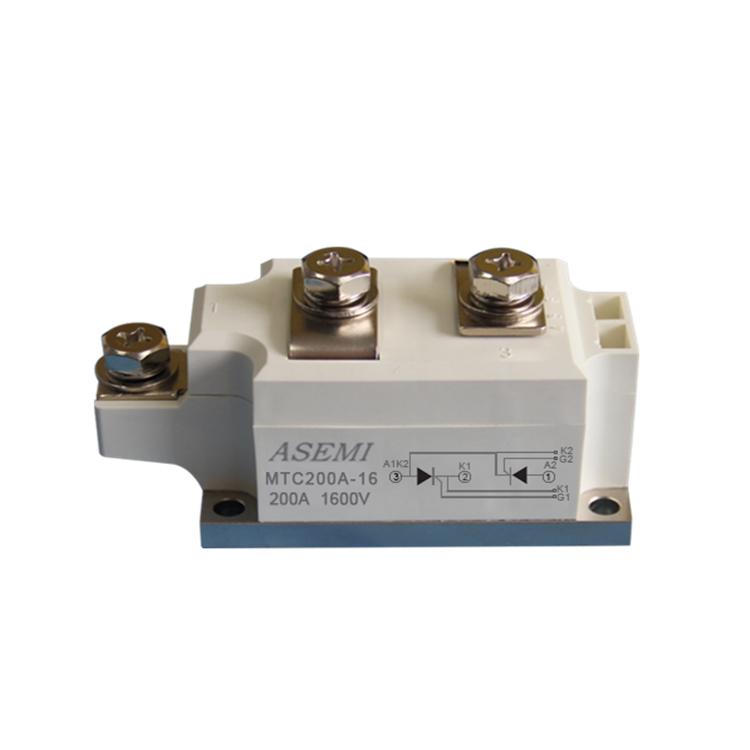 ASEMI首芯 大功率整流模块MFC200-16整流模块电路
