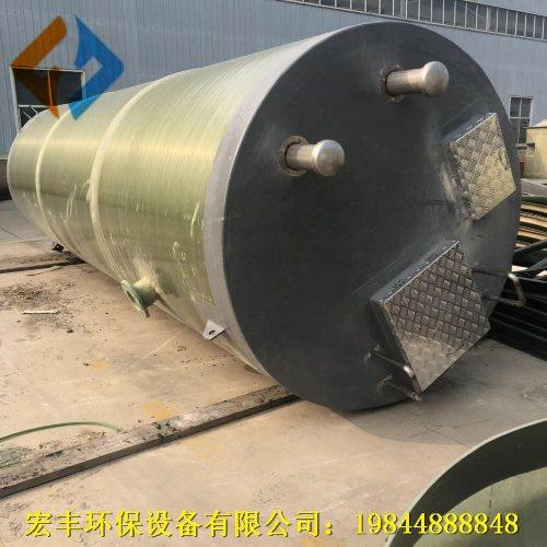 圆形一体化泵站规范 宏丰 地埋式消防一体化泵站施工方案