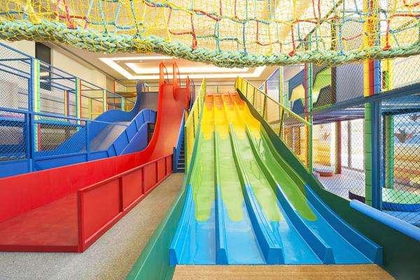 pokiddo口袋屋魔鬼滑梯系列儿童乐园滑滑梯组合设备批发