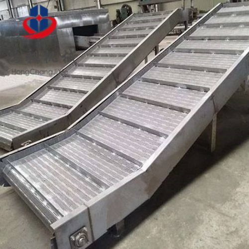 鸿昶 缓冲链板输送机厂 食品链板输送机