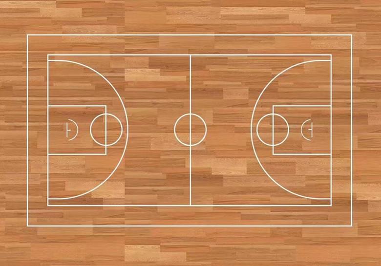 衢州篮球硬木运动木地板 室内运动场硬木地板 欢迎咨询考察
