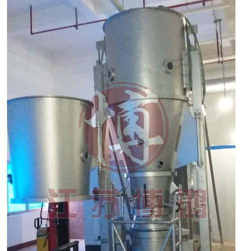 胶原蛋白沸腾干燥制粒机价格 江苏博鸿制粒干燥