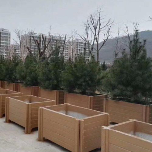 山东丽景建材 道路花圃订制 园林花圃哪儿卖