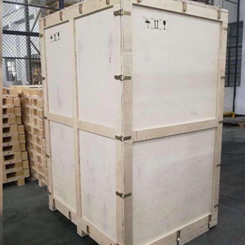 熏蒸木质包装箱价位 沃登 钢带木质包装箱包装