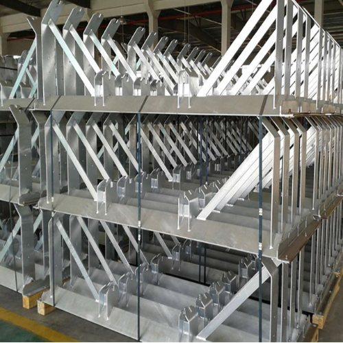 缓冲托辊支架质量可靠 天光工矿配件 皮带机托辊支架质量可靠