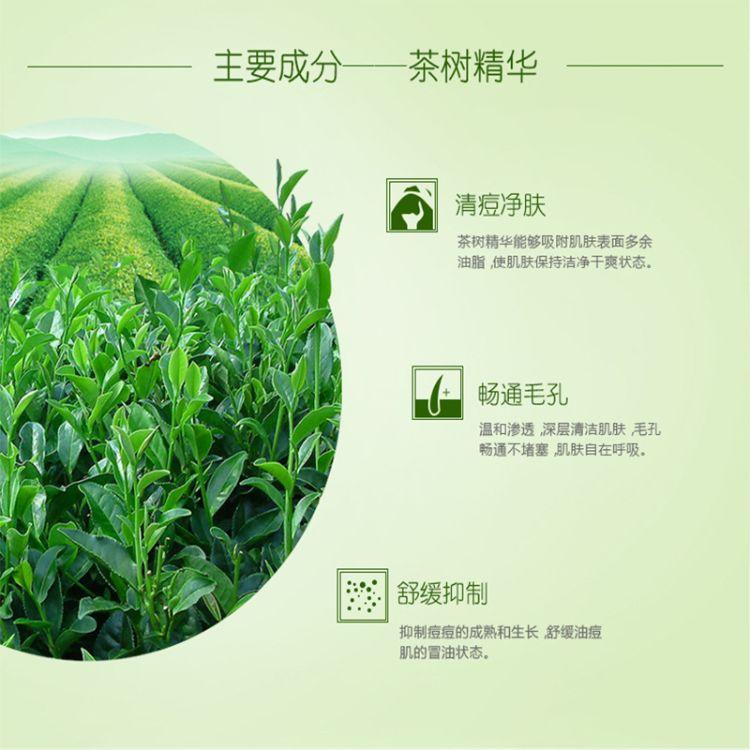 茶树油清痘洁面乳OEM代加工氨基酸 皂基洗面奶ODM贴牌护肤品厂家