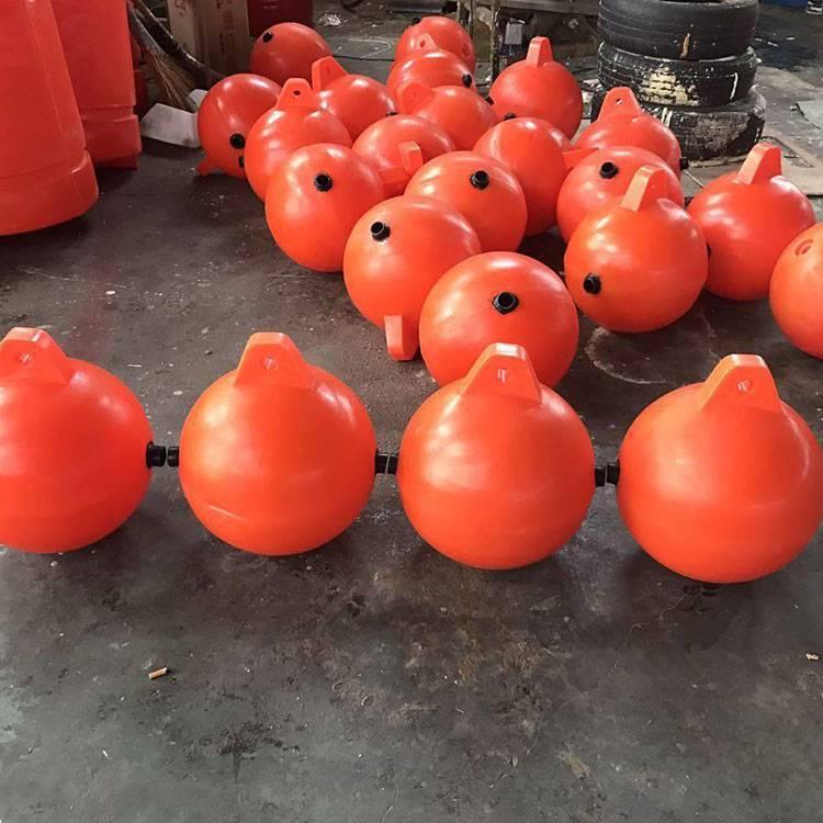 水上500mm警示浮球海洋警示浮漂浮标塑料球