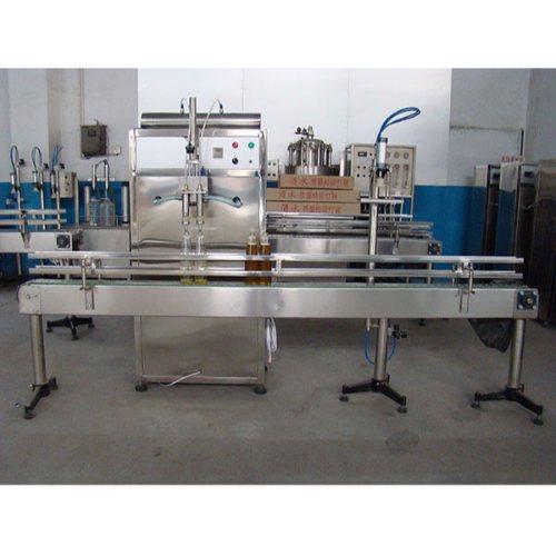 定量食用油灌装设备报价 恒鲁机械 制造食用油灌装设备