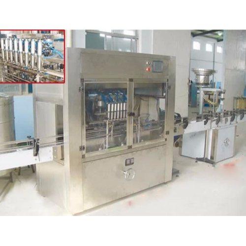 自动食用油灌装机规格 恒鲁机械 制造食用油灌装机